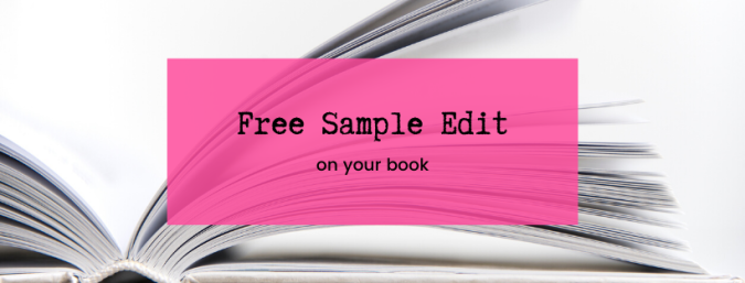 Free Sample Edit on your book